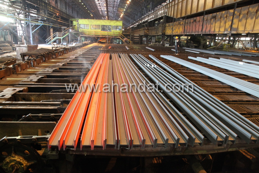 تیرآهن کارخانه یزد